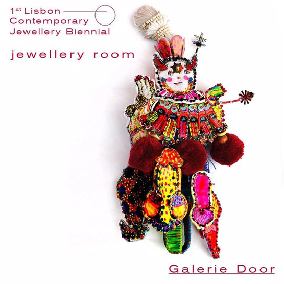 Galerie Door contemporary art and contemporary fine art jewellery Lisbon biennial 2021