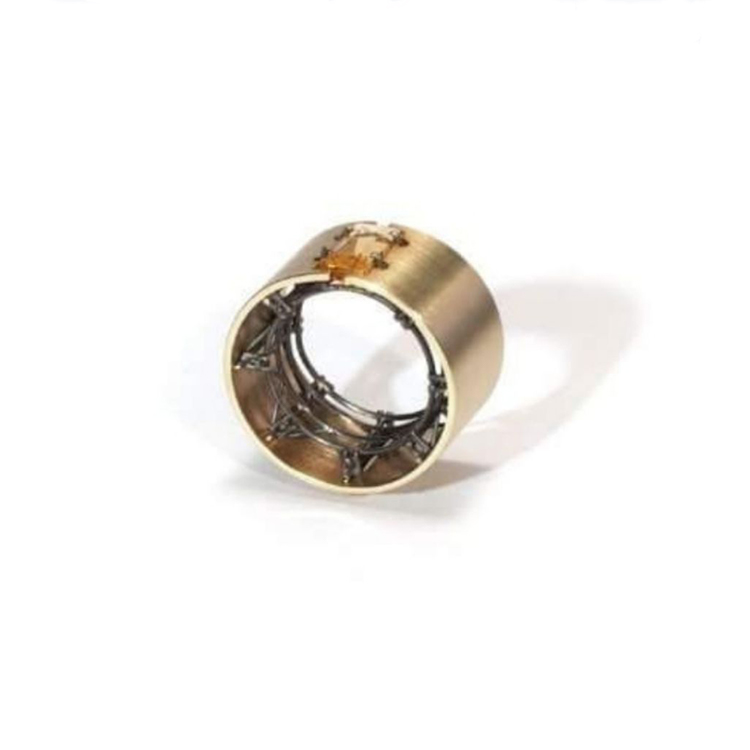 galerie door contemporary fine art and art jewellery robean visschers construction ring