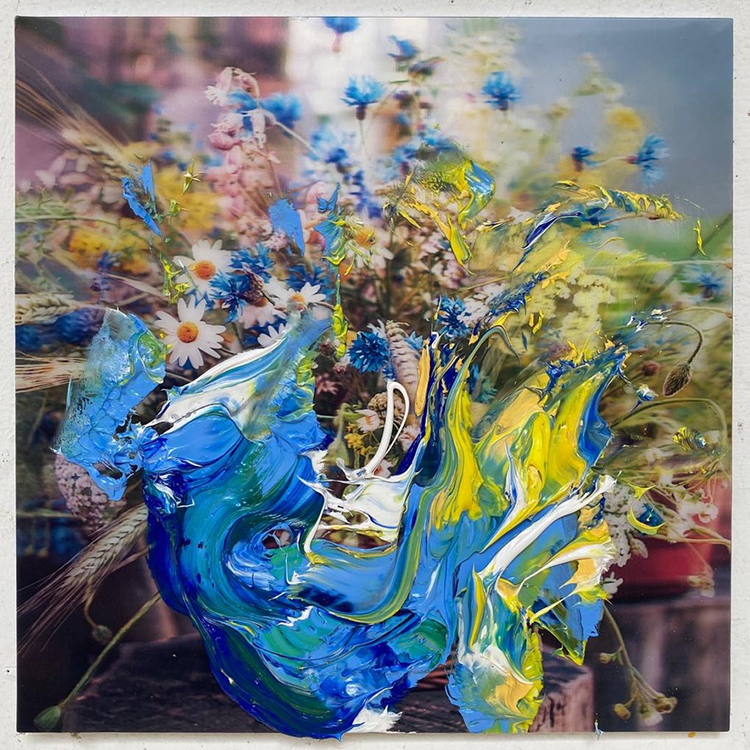 Galerie Door contemporary art paintings Uwe Poth