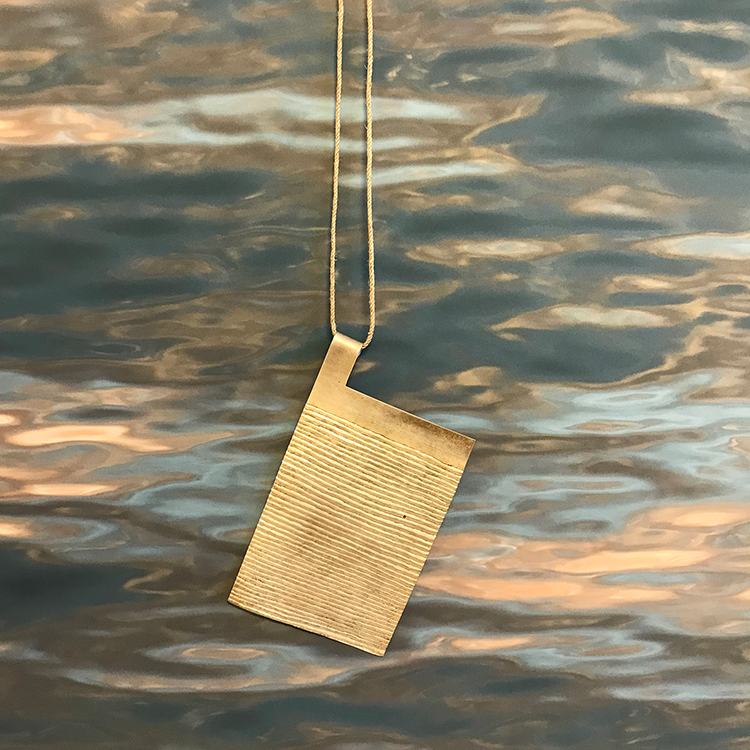 galerie door klara brynge line 2018 pendant contemporary jewellery