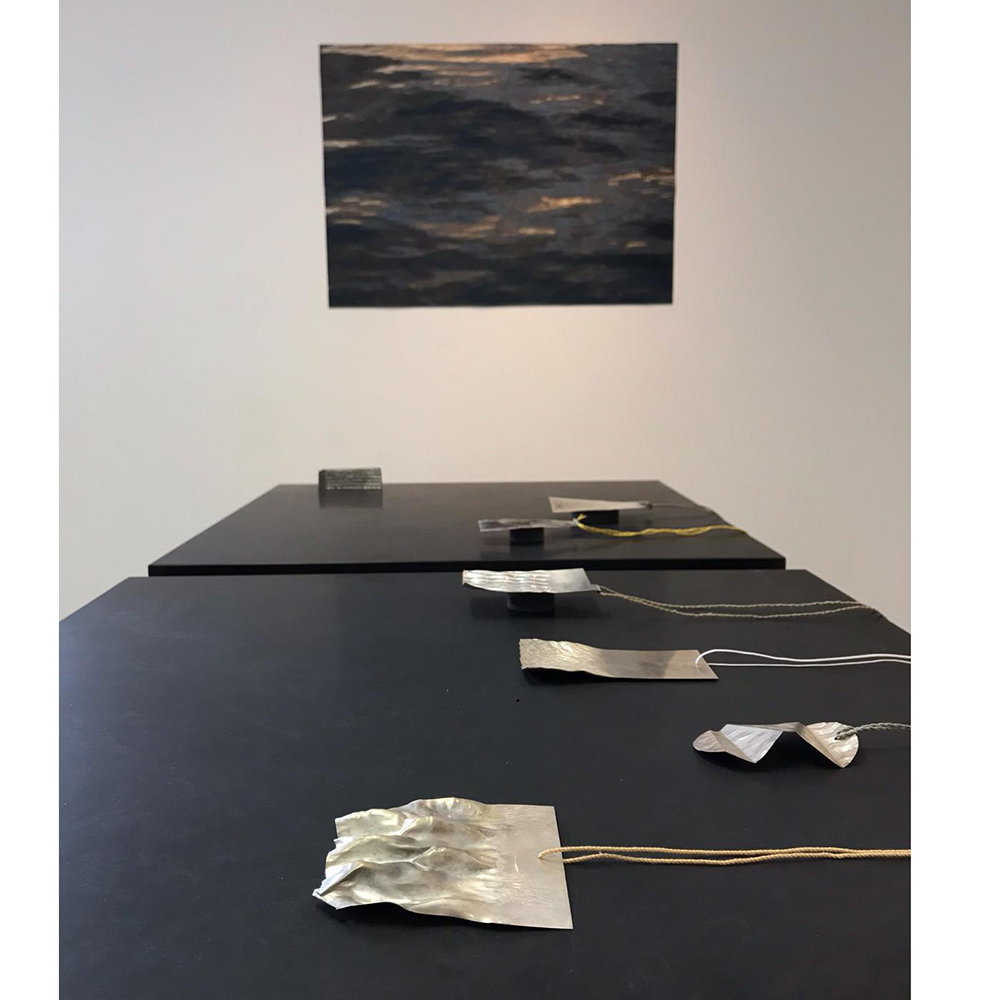 Galerie Door klara brynge 'Elsewhere' 2019 galerie door contemporary fine art and art jewellery
